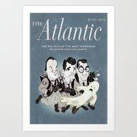 ghost busters Art Prints featuring Heebie-Jeebie Busters by Ivan Guerrero