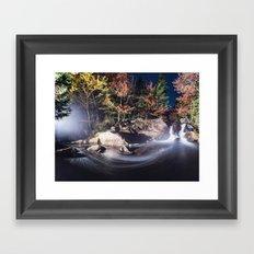 Panoramic Flow Framed Art Print