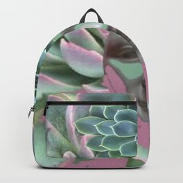 SURREAL BLUE  SUCCULENT NATURE SPIRIT ART Backpack