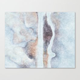 stained fantasy snowy highway Canvas Print
