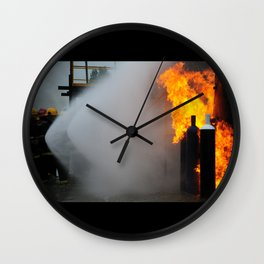 ¡IN FIRE! Wall Clock