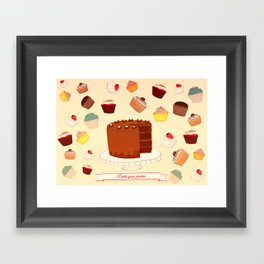 I Bake your Pardon! Framed Art Print