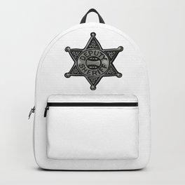 Deputy Sheriff Badge Backpack