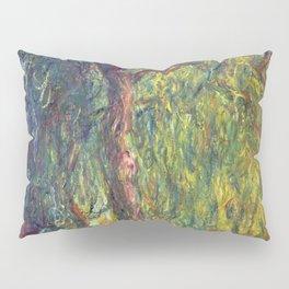 1918-Claude Monet-Weeping Willow-99 x 120 Pillow Sham