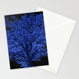 Blue Tree A182 Stationery Cards