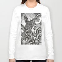 japan Long Sleeve T-shirts featuring Japan by Alabaster & Ink