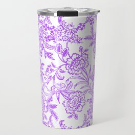 Radiant Orchid Tea Reversed Travel Mug