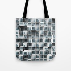 Cubes Within Cubes Tote Bag