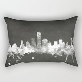 Dallas Texas Skyline Rectangular Pillow