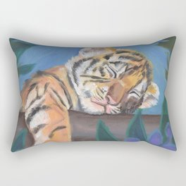 What Does the Tiger Dream? Rectangular Pillow