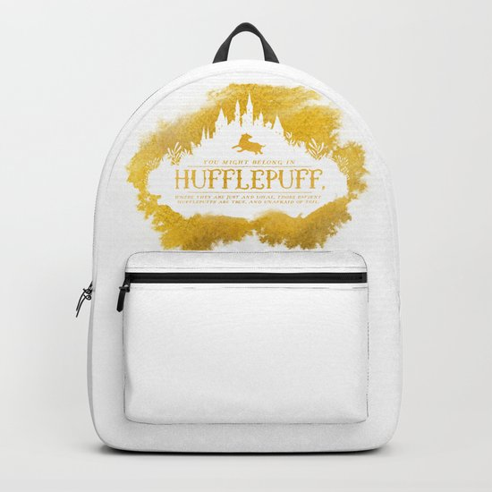 Hufflepuff Backpack