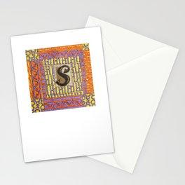 Alpha-Numero: S Stationery Cards