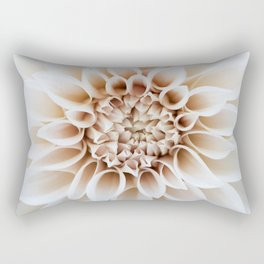 Cafe Au Lait Dahlia Rectangular Pillow
