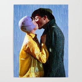 Singin' in the Rain - Blue Poster
