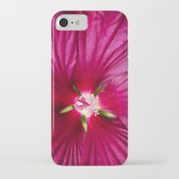 hibiscus iPhone & iPod Cases featuring Hibiscus by Christina Rollo