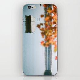 lake side view  iPhone Skin