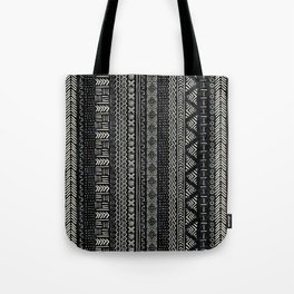 Mud Cloth Stripe Tote Bag