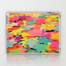 Star Confetti Laptop & iPad Skin