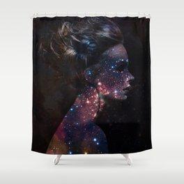 Galaxy Eyes Shower Curtain