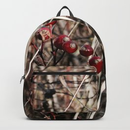 Thorned Berries of Winter Backpack