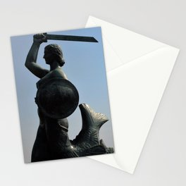 The Mermaid of Warsaw Stationery Cards