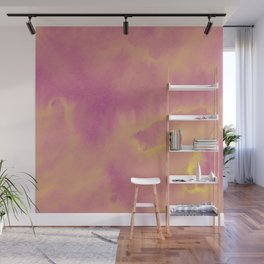 Watercolor texture - dusty pink Wall Mural