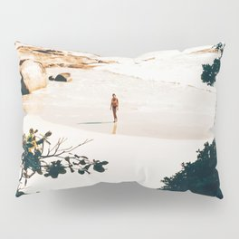 Solo Traveler || #illustration #travel Pillow Sham