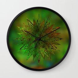 Starburst Ornament Wall Clock