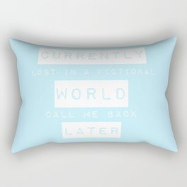 Lost in a Fictional World Rectangular Pillow