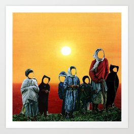 What kind of world are we leaving for our children? Art Print