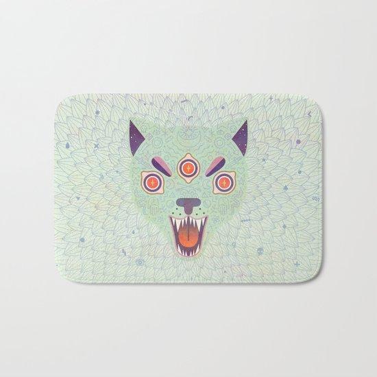 Cosmic Cat Bath Mat