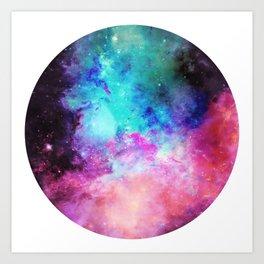 Circular Cosmica Art Print