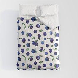 Blueberries Comforters