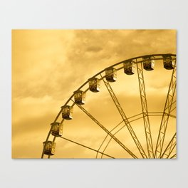 Carnival Is Over Canvas Print