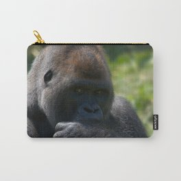 Silverback Gorilla And His Blanket Carry-All Pouch