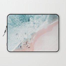 Ocean Pink Swirl Laptop Sleeve
