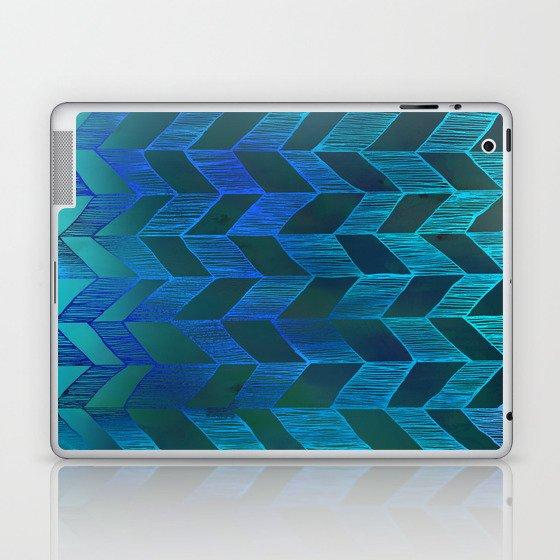 PATTERN {Chevron 013} Laptop & iPad Skin