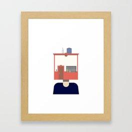 New home Framed Art Print