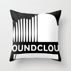 Share Your Cloud With The World Throw Pillow