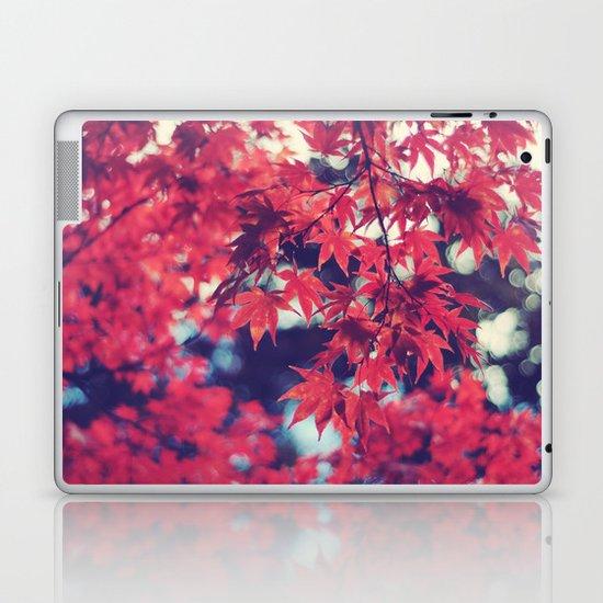 Still autumn in my heart Laptop & iPad Skin