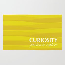 Yellow for Curiosity Rug