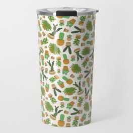 Lots of Cacti & Succulents Travel Mug