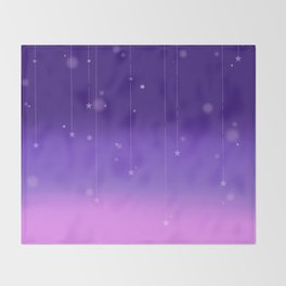 Wish Upon A Falling Star Throw Blanket