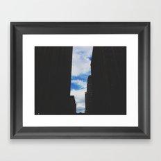 street view Framed Art Print