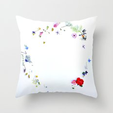 Disturbed by a Whisper Throw Pillow