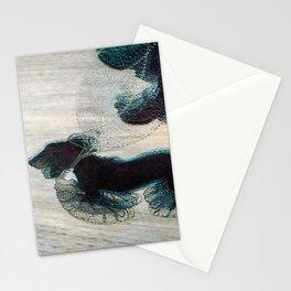 Dynamism of a Dog on a Leash, Vintage Minimalist Art Stationery Cards