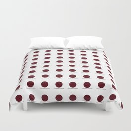 Chocolate Cosmos Duvet Cover