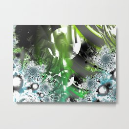 Vector Forest Metal Print