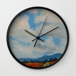 Old Country Roads Wall Clock