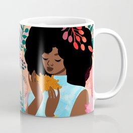 Chrysanthemums in November Coffee Mug